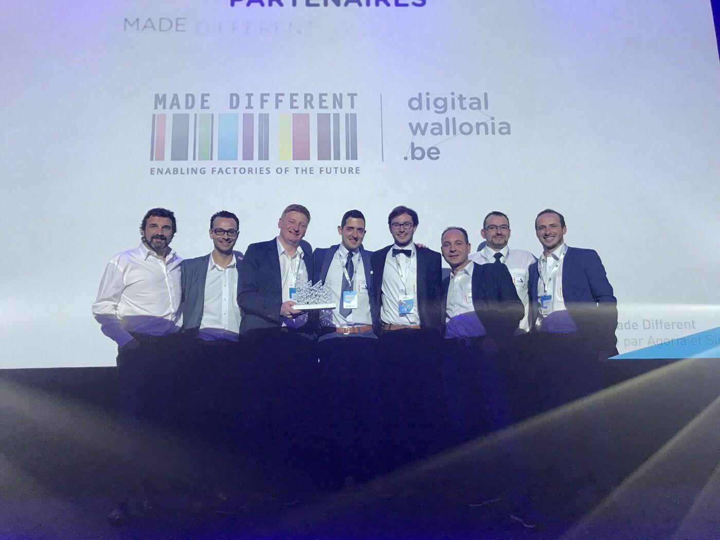 STAS wins Factory of the Future 2019