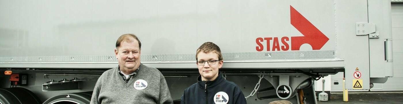 Marc Pinguet et son petit-fils – STAS inscrit dans les gènes