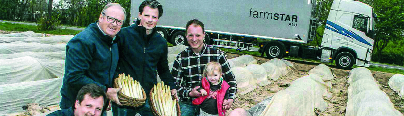 Asparagus season at STAS dealer Erkes
