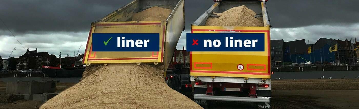 Liners zorgen voor een snel, efficiënt en veilig bulktransport