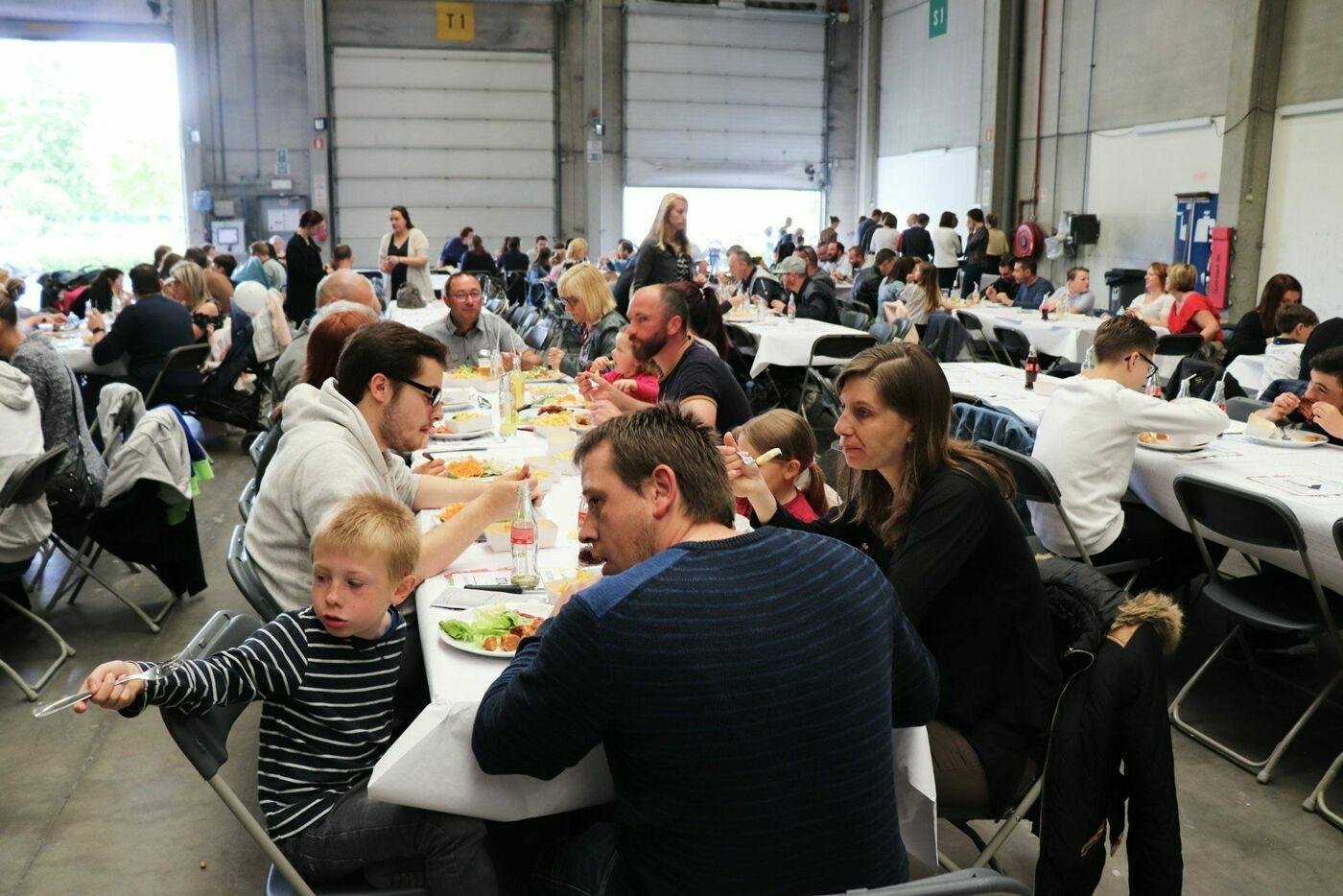 Familientag in STAS Factory Tournai