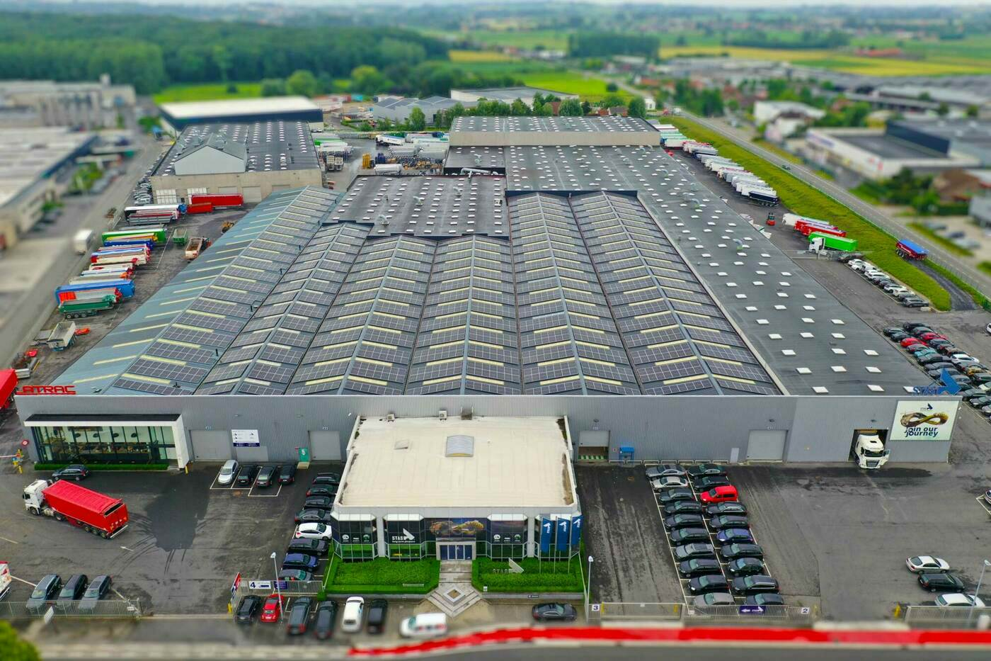 STAS invests in solar panels: third of energy consumption is green power