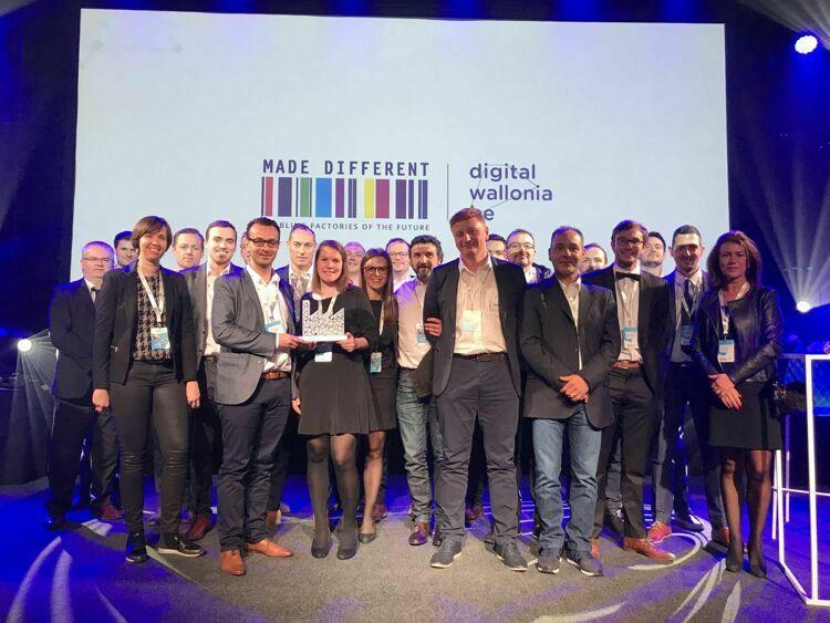 STAS factory Tournai wint Factory of the future Award 2019
