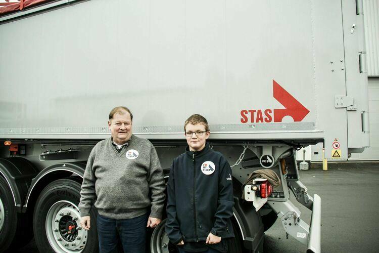 Marc Pinguet und Enkel - STAS von klein auf erfahren