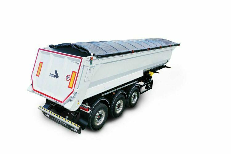 "The strengths of a steel construction tipper, the ""U-Rockstar"""