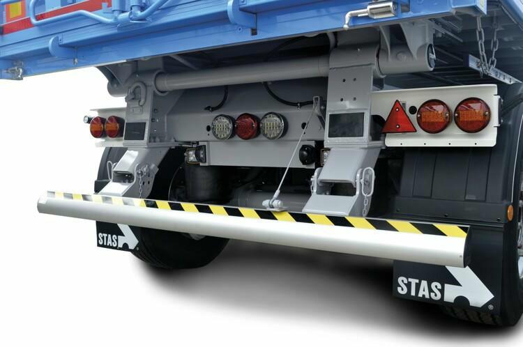 Die Stärken unseres pneumatischen Unterfahrschutzes sind hervorgehoben!