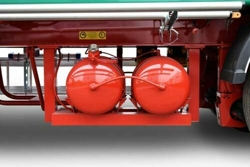 water tanks for walking floor trailers