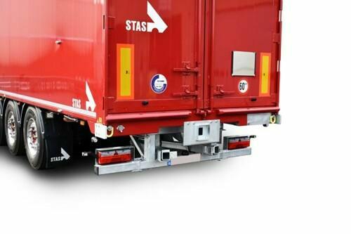 Kooiaap teherautós targoncaszállító