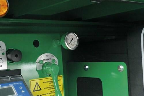 loading manometer for tipper