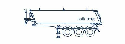 parete anteriore inclinata, portellone posteriore inclinato, lunghezza 7 metri