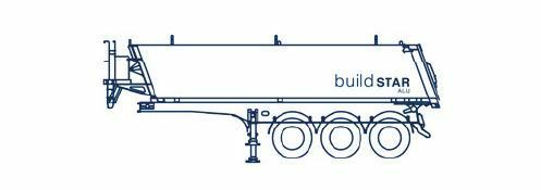 sloping front bulkhead, sloping rear door, 8-metres long