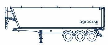 schuin voorberd, rechte achterdeur, V-chassis