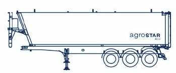 sloping front bulkhead, straight rear door, V chassis