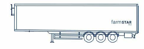 straight front bulkhead, straight rear door