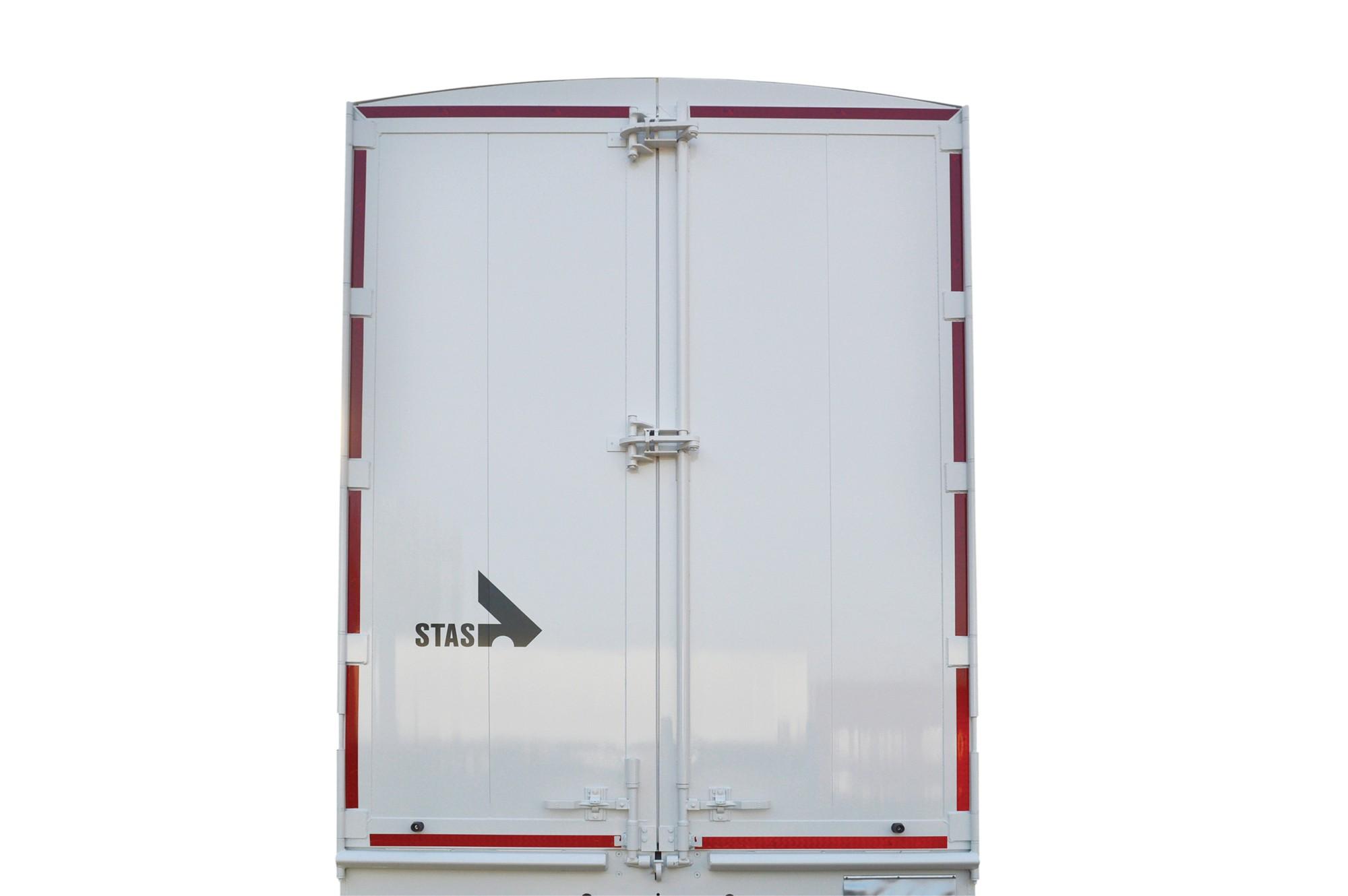 double extra reinforced lock for walking floor trailer