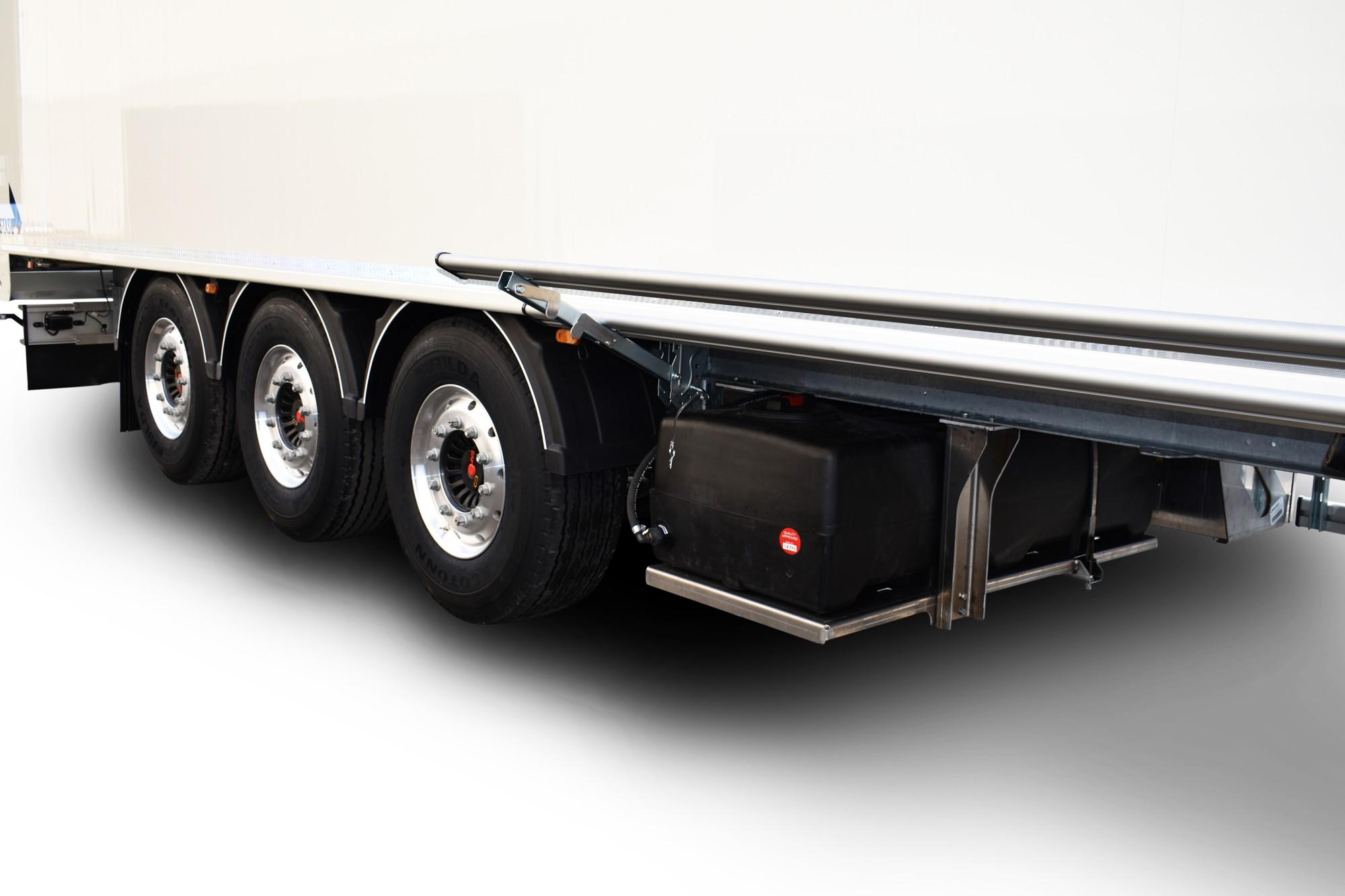 400 litre water reservoir for walking floor trailer