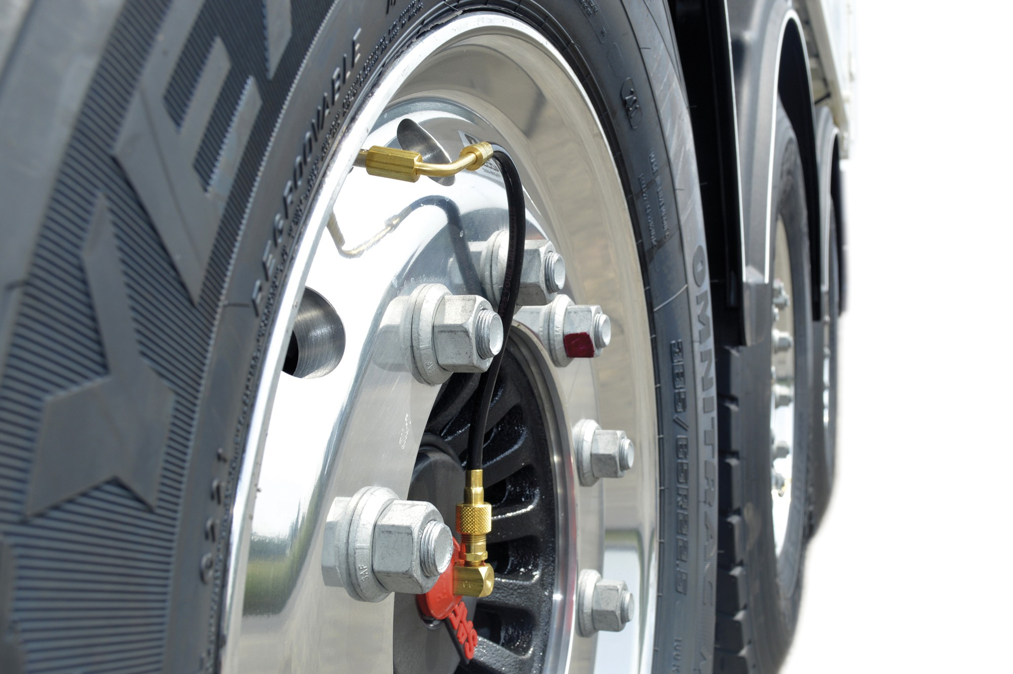 automatic tyre air pump system