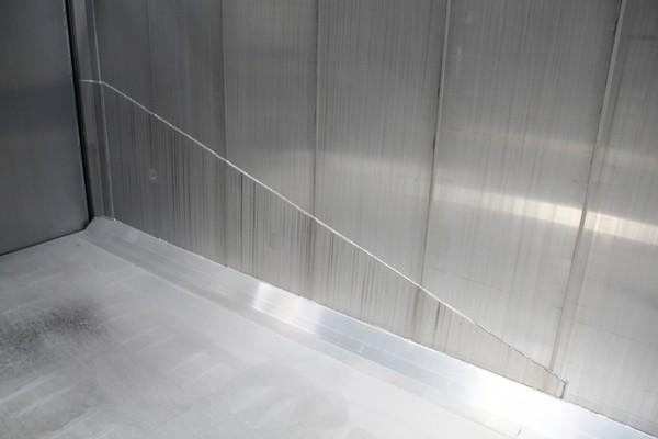 aluminium slijtplaat voor kipper