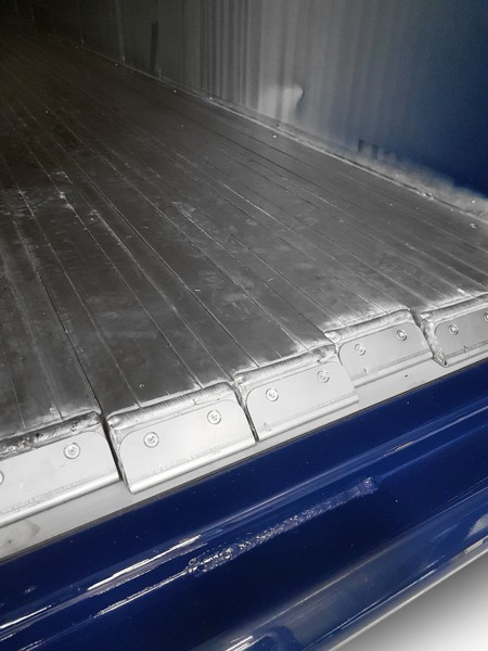 stainless steel reinforced floor slats